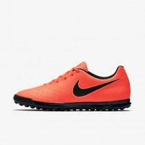 Chaussure Nike Magista Ola Ii Tf Pour Homme Football Cramoisi Total/Mangue Brillant/Noir_NO. 844408-808