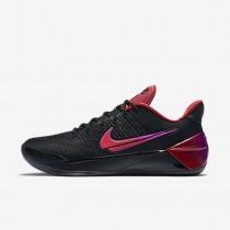 Chaussure Nike Kobe A.D. Pour Homme Basketball Noir/Hyper Violet/Rouge Université_NO. 852425-004