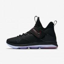 Chaussure Nike Lebron Xiv Pour Homme Basketball Noir/Rouge Université/Noir_NO. 852405-004
