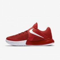 Chaussure Nike Zoom Live 2017 Pour Homme Basketball Rouge Université/Rouge Sportif/Platine Pur/Blanc_NO. 852421-606
