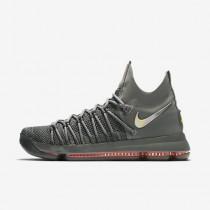 Chaussure Nike Zoom Kd 9 Elite Pour Homme Basketball Gris Foncé/Hyper Jade/Voile_NO. 909139-013