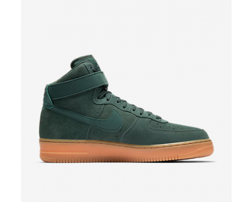 NIKE AIR FORCE 1 HIGH '07 LV8 SUEDE CHAUSSURE POUR HOMME Vert vintage/Gomme marron/Ivoire/Vert vintage AA1118-300