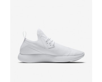 Chaussure Nike Lunarcharge Breathe Pour Homme Lifestyle Blanc/Blanc/Bleu Arsenal Clair_NO. 942059-100