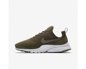 Chaussure Nike Presto Fly Pour Homme Lifestyle Olive Moyen/Blanc/Olive Moyen_NO. 908019-201