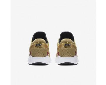 Chaussure Nike Air Max Zero Pour Homme Lifestyle Or Métallique/Blanc/Noir/Rouge Intense_NO. 789695-700