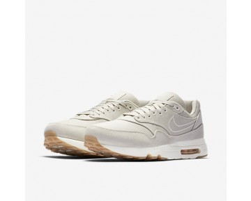 Chaussure Nike Air Max 1 Ultra 2.0 Textile Pour Homme Lifestyle Beige Clair/Voile/Voile/Beige Clair_NO. 898009-001
