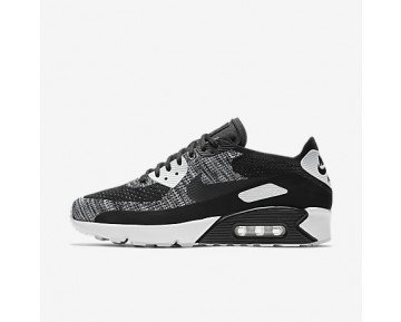 Chaussure Nike Air Max 90 Ultra 2.0 Flyknit Pour Homme Lifestyle Noir/Blanc/Noir_NO. 875943-001