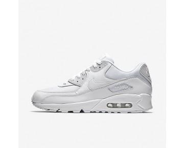 Chaussure Nike Air Max 90 Essential Pour Homme Lifestyle Blanc/Blanc/Blanc/Blanc_NO. 537384-111