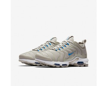 Chaussure Nike Air Max Plus Tn Ultra Pour Homme Lifestyle Blanc/Gris Pâle/Blanc/Bleu Photo_NO. 898015-100