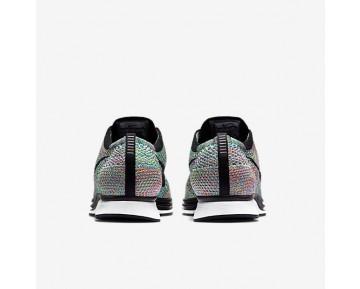 Chaussure Nike Flyknit Racer Pour Homme Lifestyle Vert Impact/Bleu Lagon/Rose Framboise/Noir_NO. 526628-304