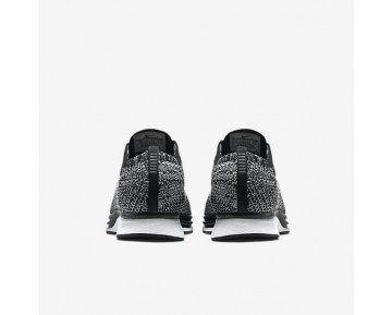Chaussure Nike Flyknit Racer Pour Homme Lifestyle Noir/Blanc_NO. 526628-012