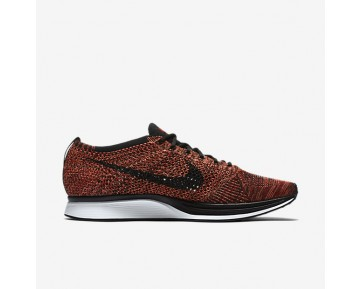 Chaussure Nike Flyknit Racer Pour Homme Lifestyle Rouge Université/Mangue Brillant/Noir_NO. 526628-608