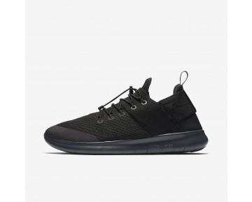 Chaussure Nike Free Rn Commuter 2017 Pour Homme Lifestyle Noir/Gris Foncé/Anthracite/Noir_NO. 880841-001