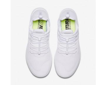 Chaussure Nike Free Rn Commuter 2017 Pour Homme Lifestyle Blanc/Blanc/Blanc_NO. 880841-100