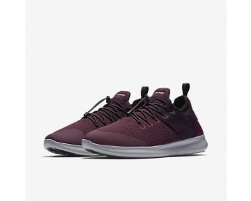 Chaussure Nike Free Rn Commuter 2017 Pour Homme Lifestyle Bordeaux/Blanc/Rouge Robuste/Vin Porto_NO. 880841-600