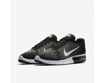 Chaussure Nike Air Max Sequent 2 Pour Homme Lifestyle Noir/Gris Foncé/Gris Loup/Blanc_NO. 852461-005