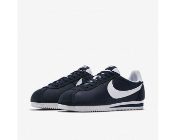 Chaussure Nike Classic Cortez Nylon Pour Homme Lifestyle Obsidienne/Blanc_NO. 807472-410