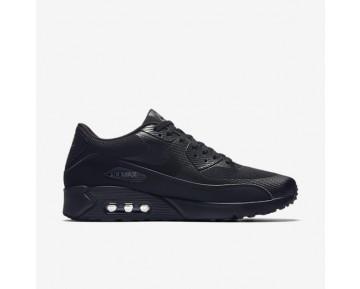 Chaussure Nike Air Max 90 Ultra 2.0 Essential Pour Homme Lifestyle Noir/Noir/Gris Foncé/Noir_NO. 875695-002