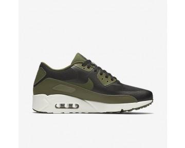 Chaussure Nike Air Max 90 Ultra 2.0 Essential Pour Homme Lifestyle Noir/Voile/Vert Légion_NO. 875695-004