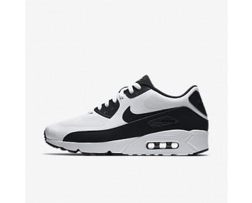 Chaussure Nike Air Max 90 Ultra 2.0 Essential Pour Homme Lifestyle Blanc/Blanc/Noir_NO. 875695-100