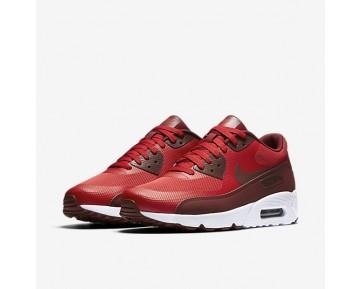 Chaussure Nike Air Max 90 Ultra 2.0 Essential Pour Homme Lifestyle Rouge Université/Blanc/Rouge Équipe_NO. 875695-600