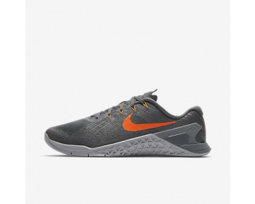Chaussure Nike Metcon 3 Pour Homme Fitness Et Training Gris Foncé/Gris Loup/Gris Froid/Cramoisi Ultime_NO. 852928-007