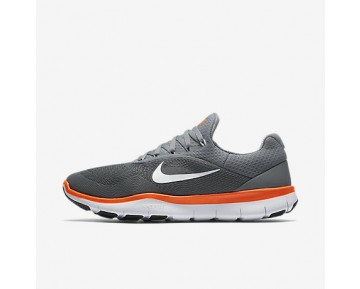 Chaussure Nike Free Trainer V7 Pour Homme Fitness Et Training Gris Froid/Noir/Blanc/Cramoisi Ultime_NO. 898053-001