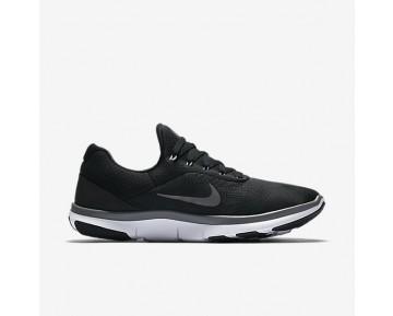 Chaussure Nike Free Trainer V7 Pour Homme Fitness Et Training Noir/Blanc/Gris Foncé_NO. 898053-003