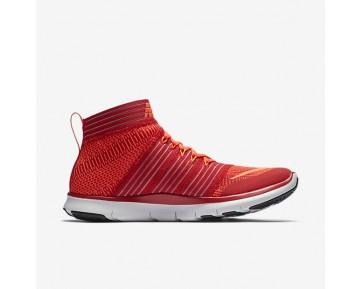 Chaussure Nike Free Train Virtue Pour Homme Fitness Et Training Rouge Université/Cramoisi Brillant/Platine Pur/Hyper Orange_NO. 898052-600
