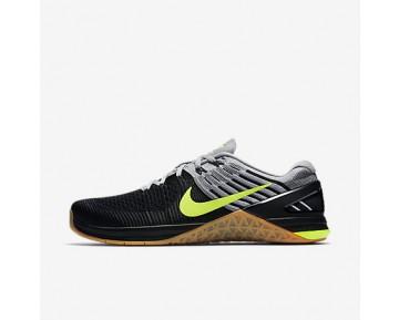 Chaussure Nike Metcon Dsx Flyknit Pour Homme Fitness Et Training Gris Loup/Gris Loup/Noir/Volt_NO. 852930-003