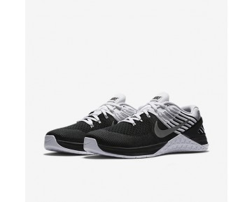 Chaussure Nike Metcon Dsx Flyknit Pour Homme Fitness Et Training Noir/Argent Métallique/Blanc_NO. 852930-005