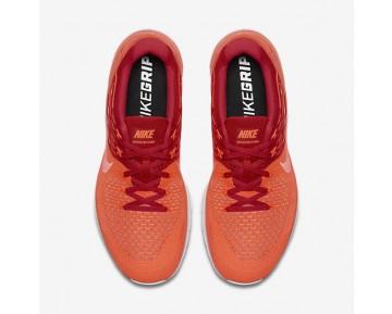 Chaussure Nike Metcon Dsx Flyknit Pour Homme Fitness Et Training Cramoisi Total/Rouge Université/Platine Pur/Hyper Orange_NO. 852930-800