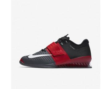 Chaussure Nike Romaleos 3 Pour Homme Fitness Et Training Rouge Université/Gris Foncé/Noir/Blanc_NO. 852933-600