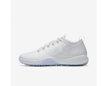 Chaussure Nike Jordan Trainer 1 Low Pour Homme Fitness Et Training Blanc/Platine Pur/Blanc_NO. 845403-100