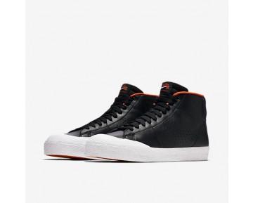 Chaussure Nike Sb Blazer Mid Xt Pour Homme Skateboard Noir/Blanc/Orange Sécurité/Argent Métallique_NO. 876872-001