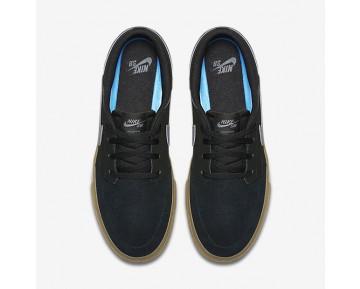Chaussure Nike Sb Solarsoft Portmore Ii Pour Homme Skateboard Noir/Gomme Marron Clair/Gris Foncé_NO. 880266-009