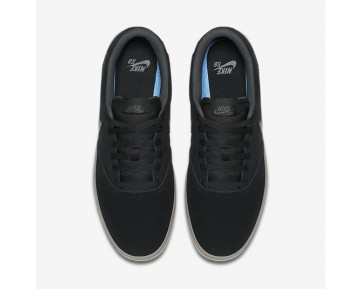 Chaussure Nike Sb Check Solarsoft Pour Homme Skateboard Noir/Gomme Marron Clair/Anthracite_NO. 843895-003