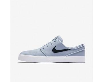 Chaussure Nike Sb Zoom Stefan Janoski Canvas Pour Homme Skateboard Bleu Arsenal Clair/Obsidienne/Obsidienne_NO. 615957-440