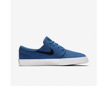 Chaussure Nike Sb Zoom Stefan Janoski Canvas Pour Homme Skateboard Bleu Industriel/Obsidienne_NO. 615957-442