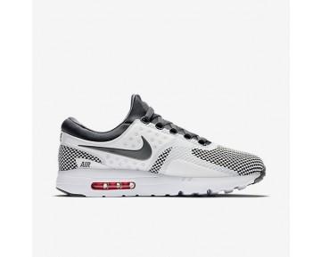 Chaussure Nike Air Max Zero Essential Pour Homme Lifestyle Gris Foncé/Blanc Sommet/Cramoisi Brillant/Gris Foncé_NO. 876070-008