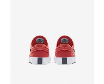 Chaussure Nike Sb Zoom Stefan Janoski Canvas Pour Homme Skateboard Rouge Piste/Obsidienne_NO. 615957-642