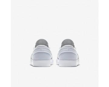 Chaussure Nike Sb Zoom Stefan Janoski Slip-On Canvas Pour Homme Skateboard Gris Loup/Platine Pur/Noir_NO. 831749-004