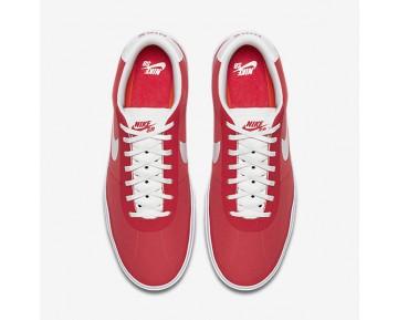 Chaussure Nike Sb Bruin Hyperfeel Canvas Pour Homme Skateboard Rouge Piste/Blanc/Blanc/Blanc_NO. 883680-611