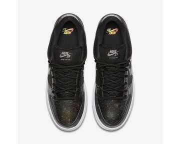 Chaussure Nike Sb Dunk Low Qs Pour Homme Skateboard Noir/Blanc/Gris Froid Métallique/Noir_NO. 883232-001