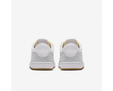 Chaussure Nike Sb Fc Classic Pour Homme Skateboard Blanc Sommet/Blanc/Orange Vif/Blanc Sommet_NO. 909096-111