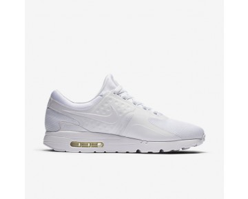 Chaussure Nike Air Max Zero Essential Pour Homme Lifestyle Blanc/Gris Loup/Platine Pur/Blanc_NO. 876070-100