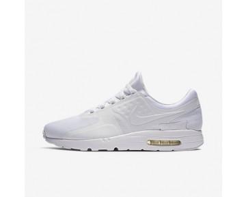 Chaussure Nike Air Max Zero Essential Pour Homme Lifestyle Blanc/Gris Loup/Platine Pur/Blanc_NO. 876070-100