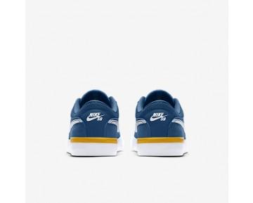 Chaussure Nike Sb Koston Hypervulc Pour Homme Skateboard Bleu Industriel/Or Université/Blanc_NO. 844447-417