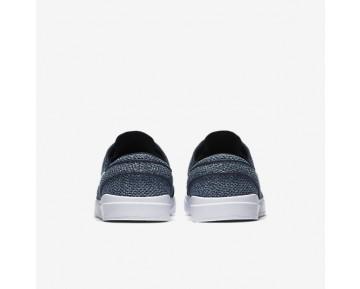 Chaussure Nike Sb Stefan Janoski Hyperfeel Mesh Pour Homme Skateboard Obsidienne/Bleu Industriel/Bleu Arsenal Clair/Blanc_NO. 898424-414