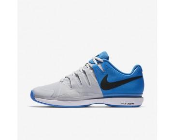 Chaussure Nike Court Zoom Vapor 9.5 Tour Pour Homme Tennis Bleu Photo Clair/Platine Pur/Blanc/Noir_NO. 631458-403
